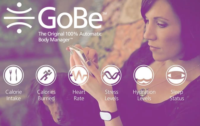 GoBe Calories Tracker Watch Band for Weight Management