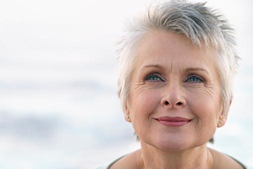 Treatment of gray hair