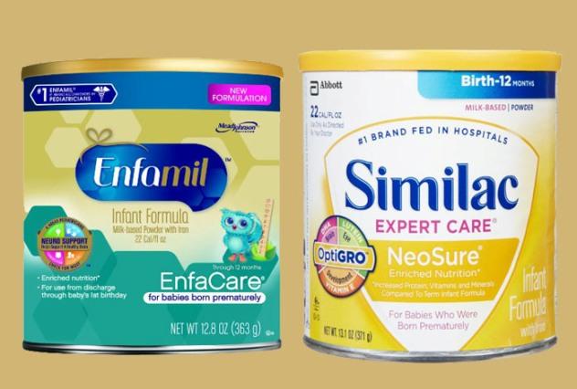 Enfamil vs Similac Infant Formula Supplementation Reviews