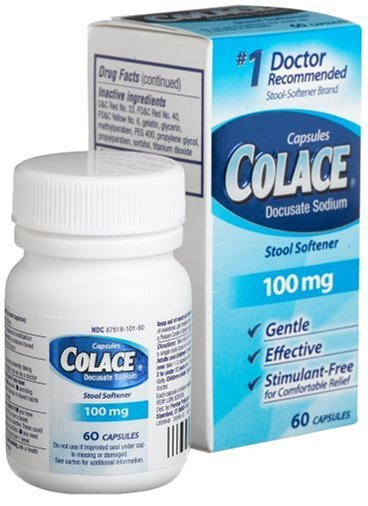 Colace 100mg (Docusate Sodium)? Side effects, Dosage