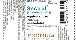 Acebutolol Side Effects Pharmacology Mechanism Brands